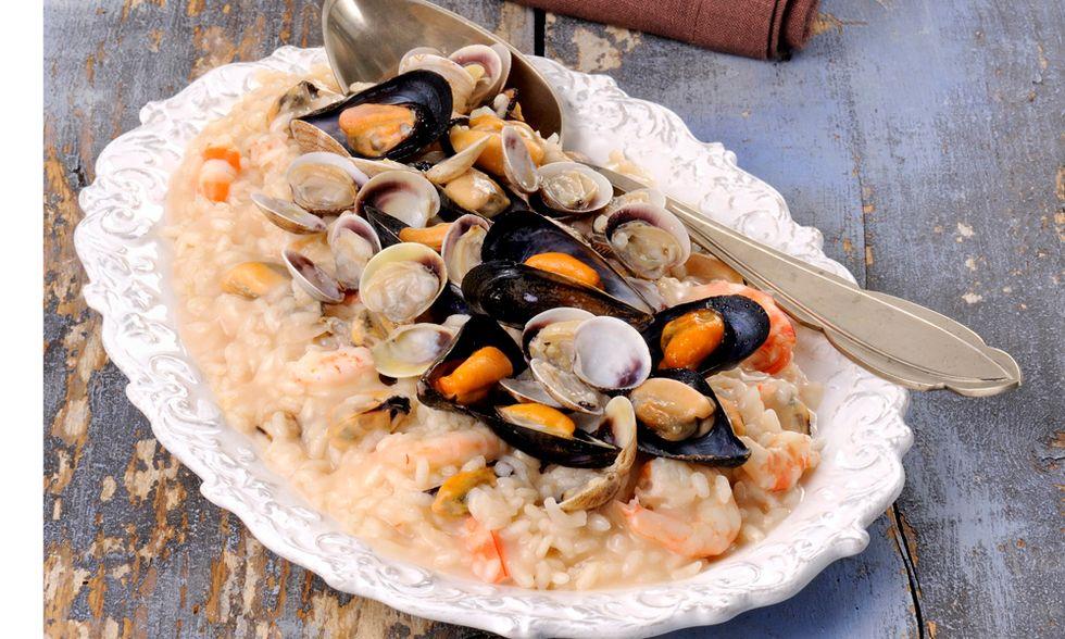 Ricette d'estate: risotto alla pescatora
