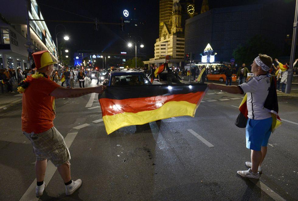 Berlino pazza di gioia per la Germania campione