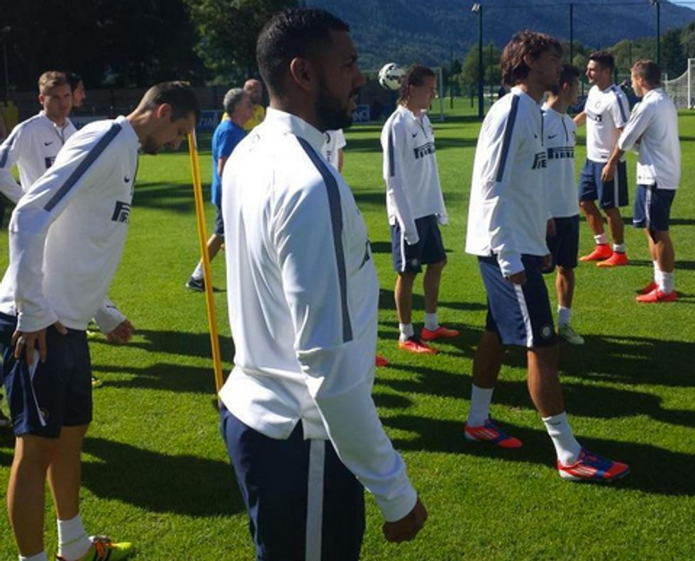 M'Vila si allena con l'Inter: chi è il nuovo acquisto