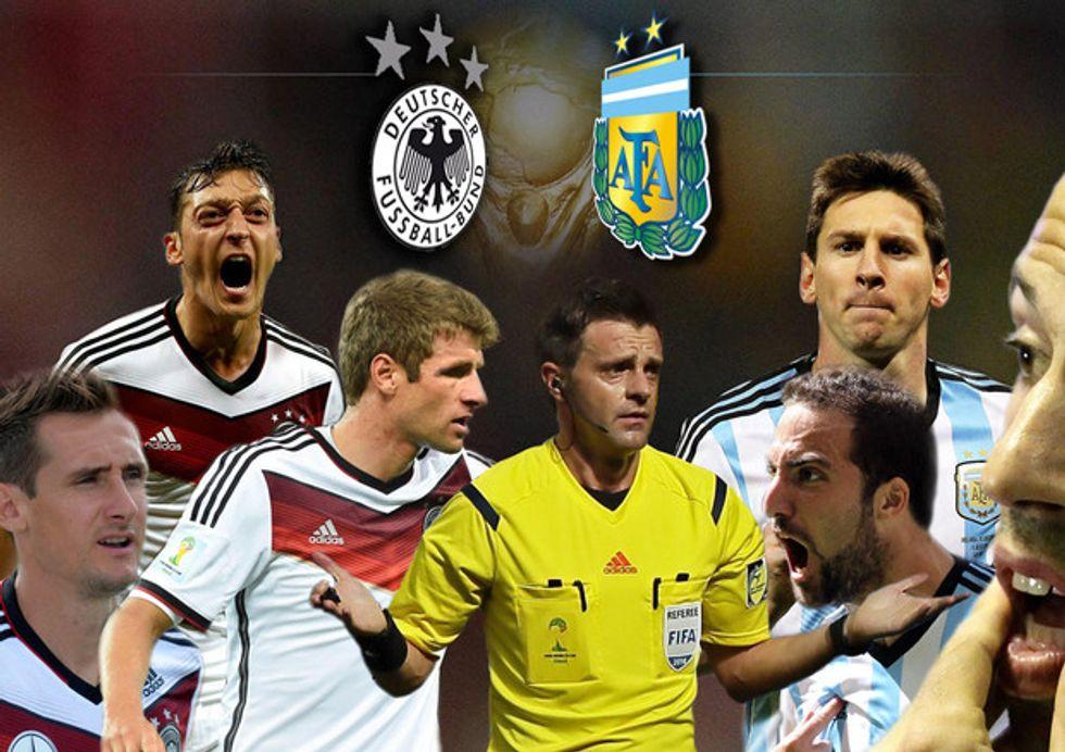 Germania - Argentina, la diretta su Twitter