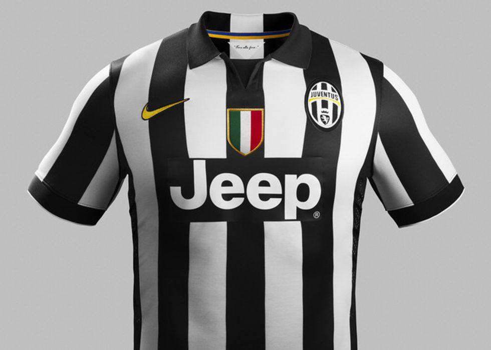 Le nuove divise della Juventus per la stagione 2014/2015