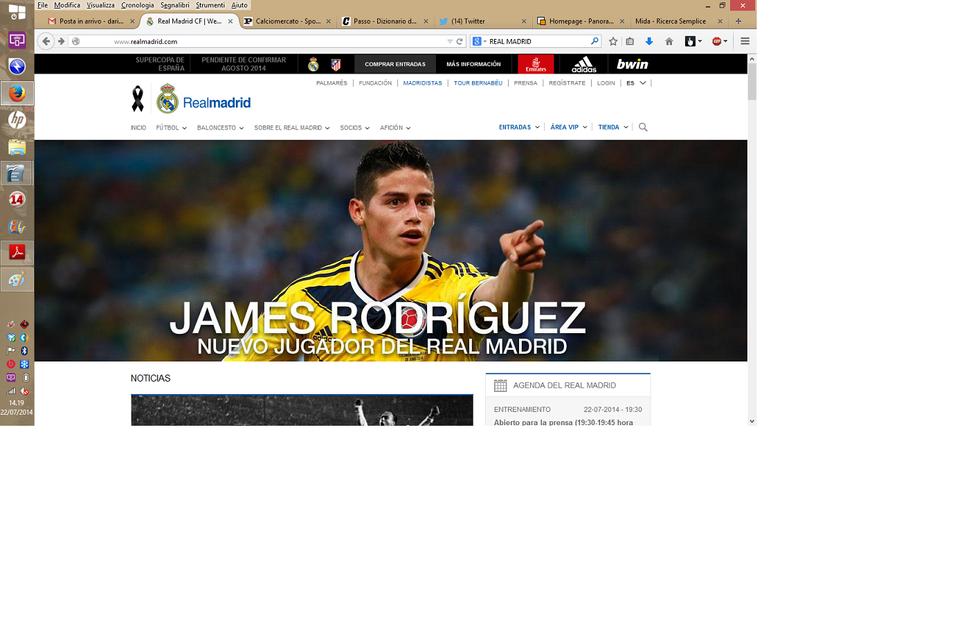 Ufficiale: Rodriguez al Real Madrid