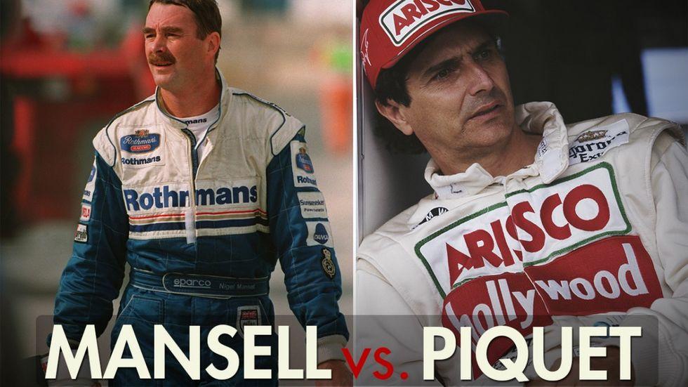 F1, Gp Ungheria: le imprese di Piquet e Mansell