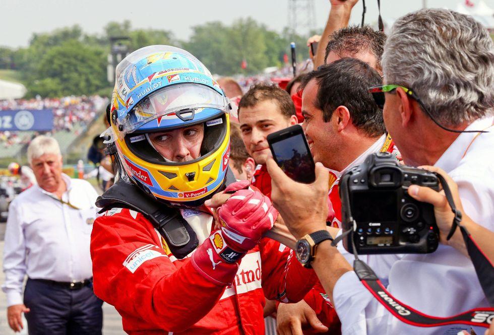 F1: Alonso fa la Ferrari più bella
