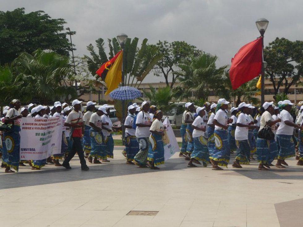 Ketty Tirzi, espulsa dall'Angola e abbandonata dall'Ue