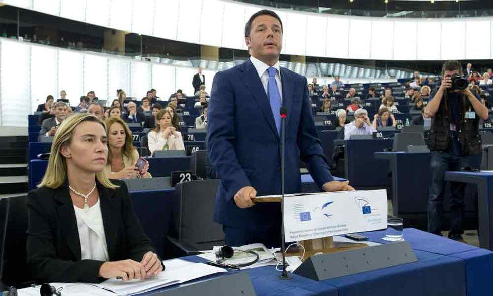 Mogherini e il dilettantismo europeo di Renzi