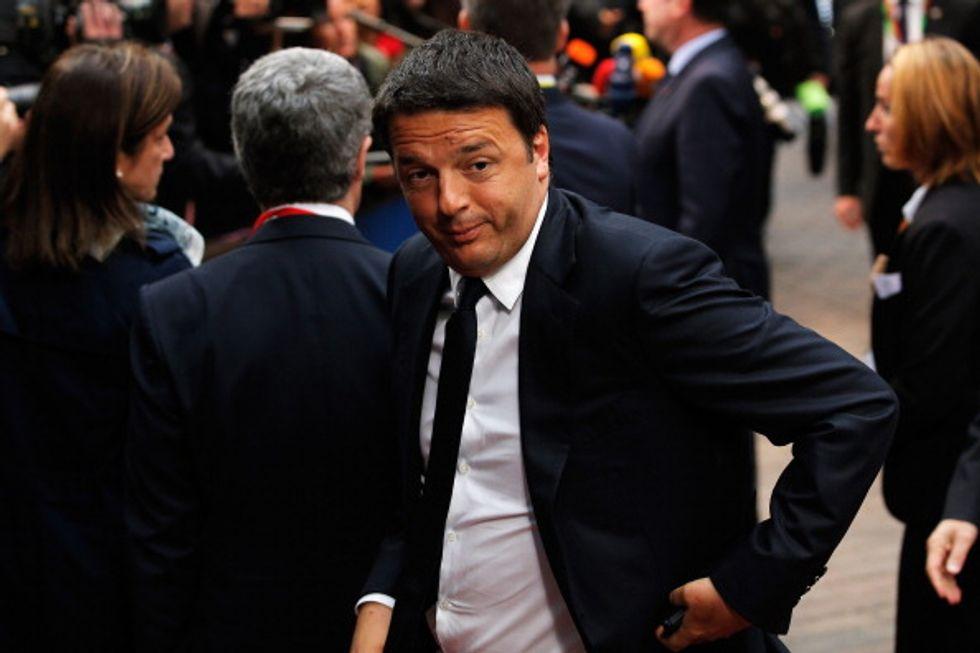 La fine di Renzi in Europa