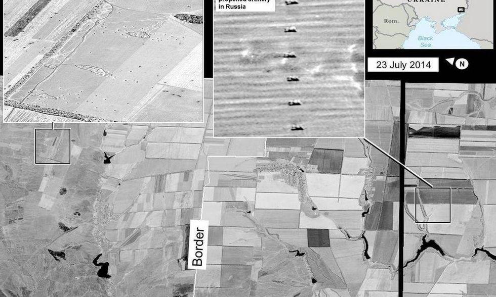 I russi bombardano l'Ucraina. Gli Usa mostrano le foto