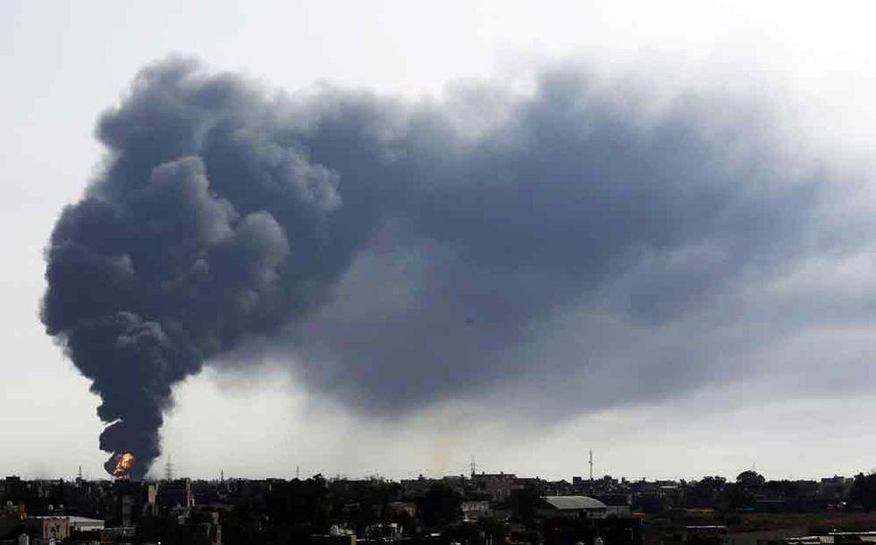 L'Italia in campo per spegnere l'incendio di Tripoli?