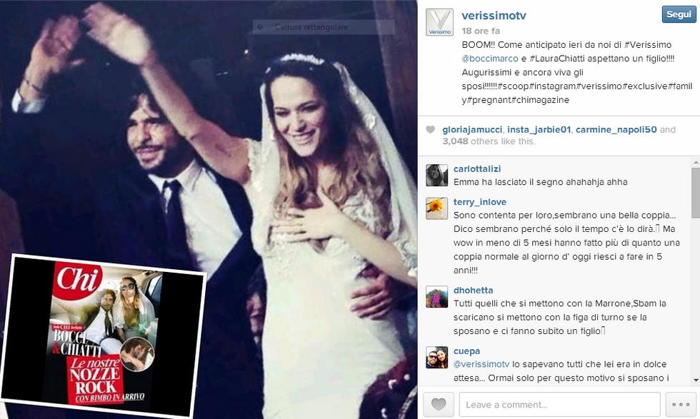 """Laura Chiatti conferma: """"Sono incinta"""""""