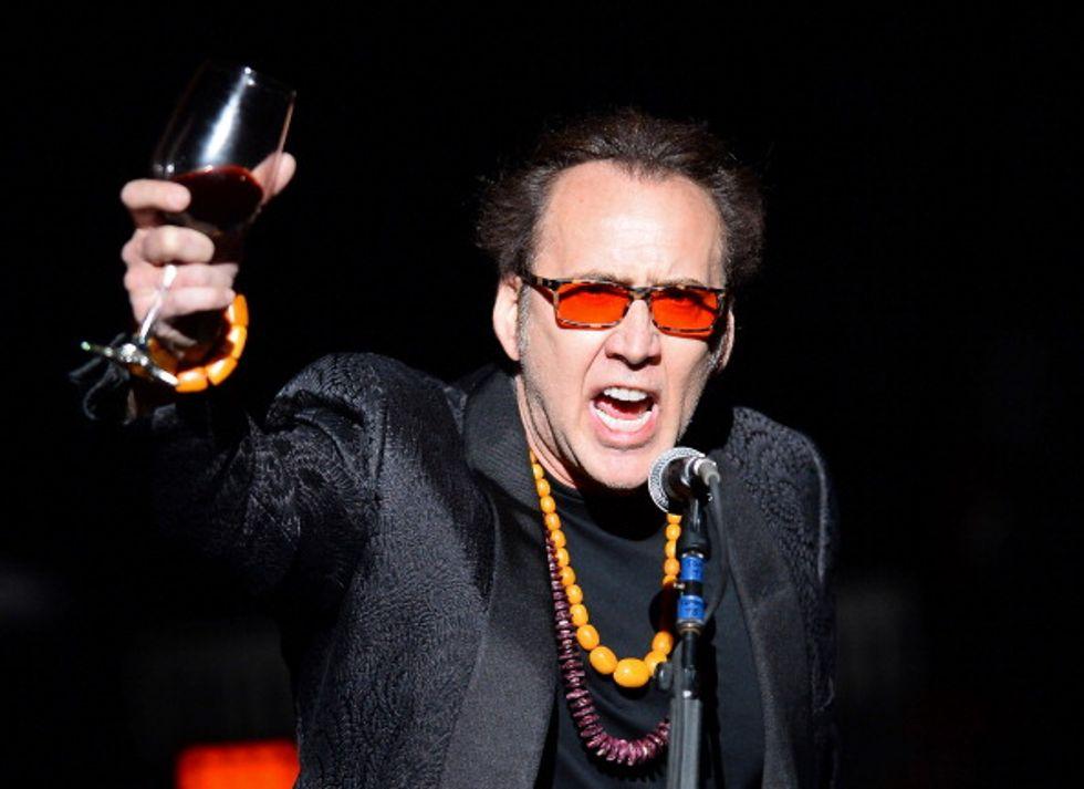 Nicolas Cage è diventato nonno