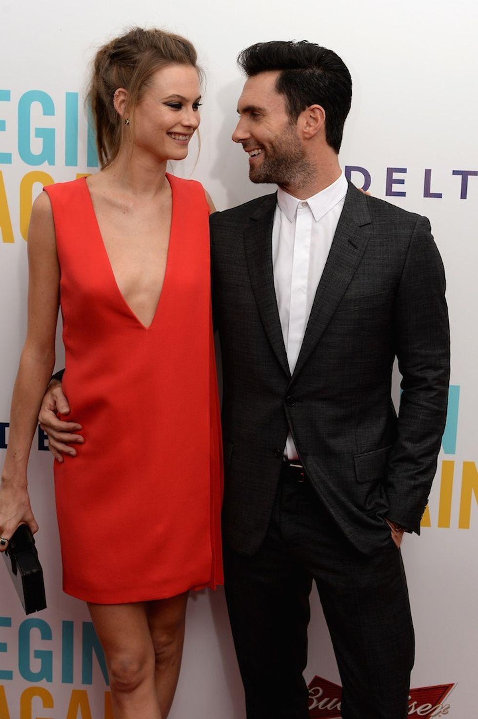 Adam Levine e Behati Prinsloo sposi in Messico