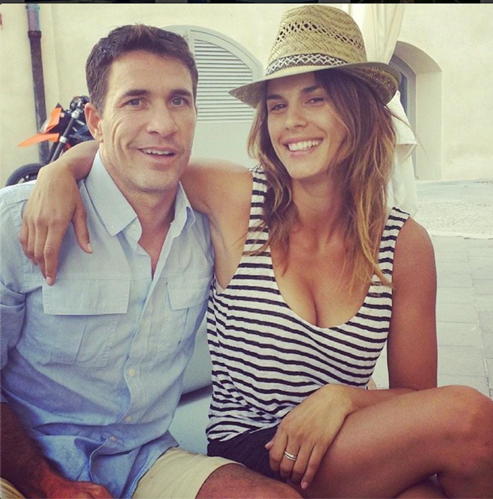 Elisabetta Canalis e Brian Perri: matrimonio in Sardegna il 14 settembre?