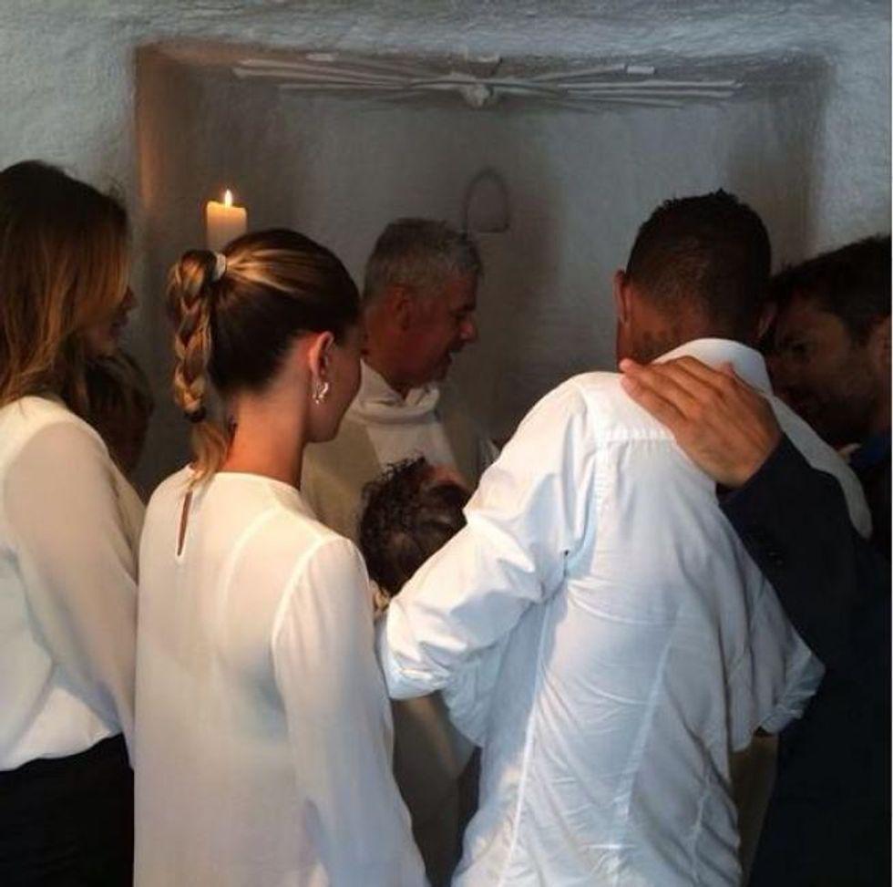 Battesimo in Sardegna per Maddox Boateng