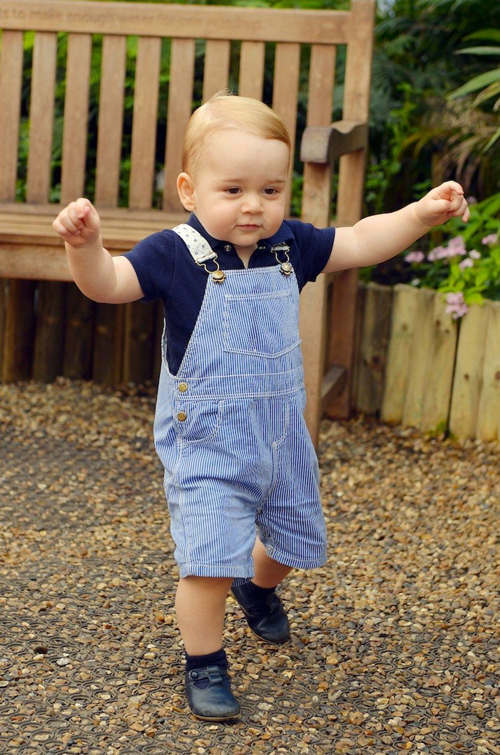Royal baby, il primo anno fashion del principe George