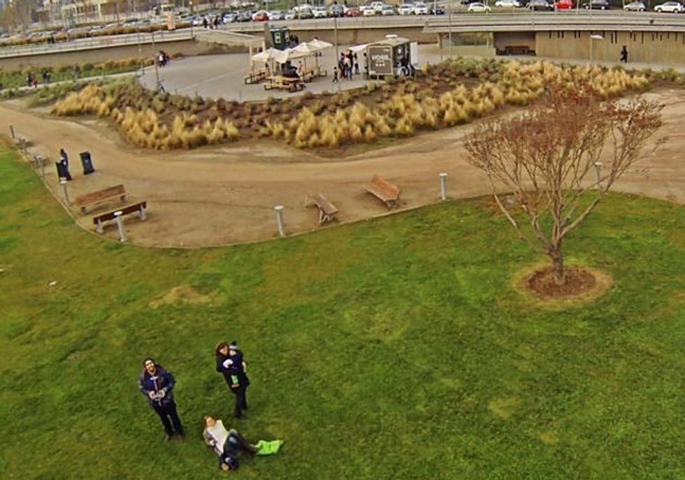 Addio selfie, ora arrivano i dronie