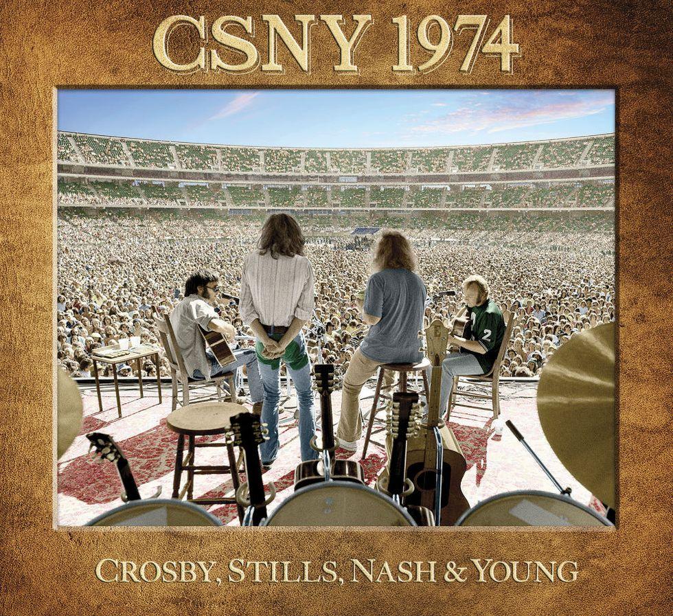 """Esce """"CSNY 1974"""", il leggendario live album di Crosby, Stills, Nash & Young"""