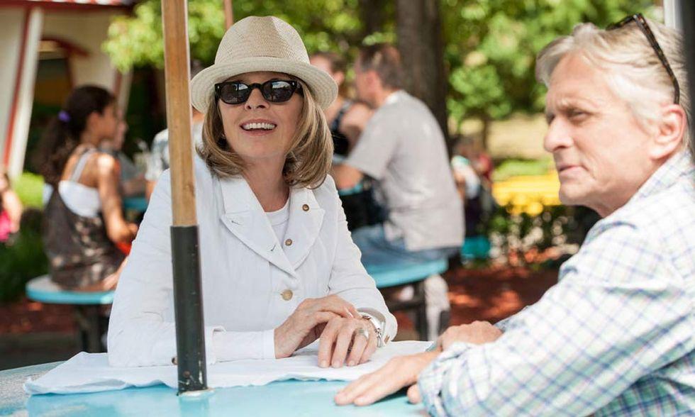 Mai così vicini, il film con Michael Douglas e Diane Keaton - La recensione