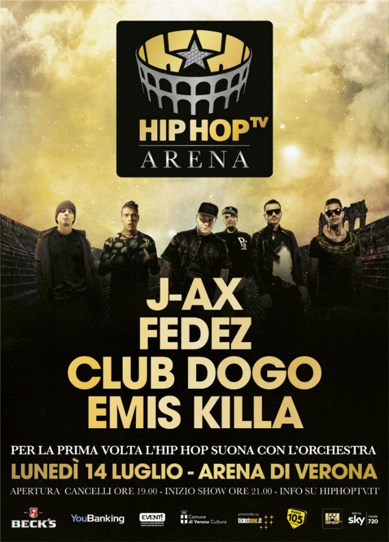 Arena di Verona: quando l'hip hop incontra la classica