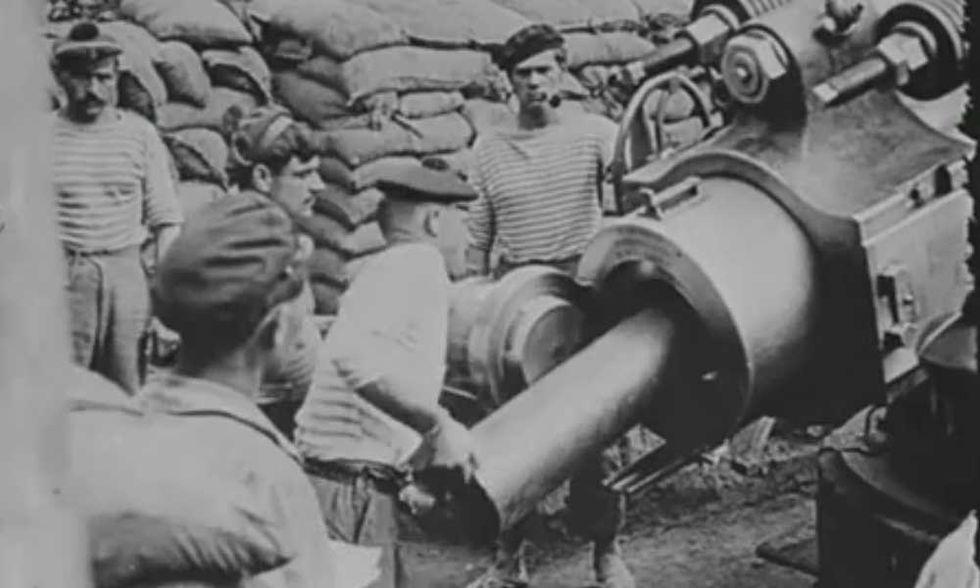 Prima Guerra Mondiale, video di repertorio dell'Imperial War Museum