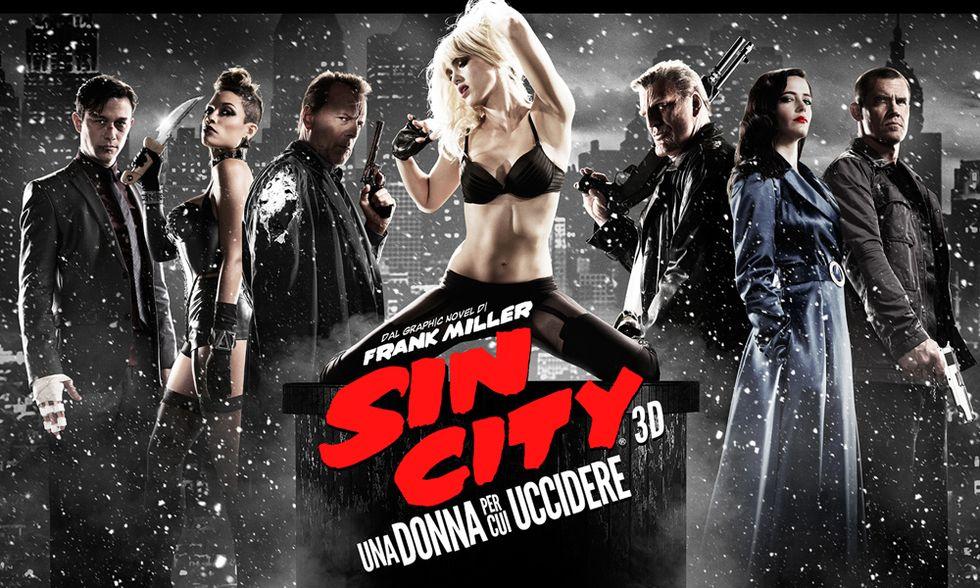 Sin City - Una donna per cui uccidere, il film di Robert Rodriguez e Frank Miller - Trailer italiano