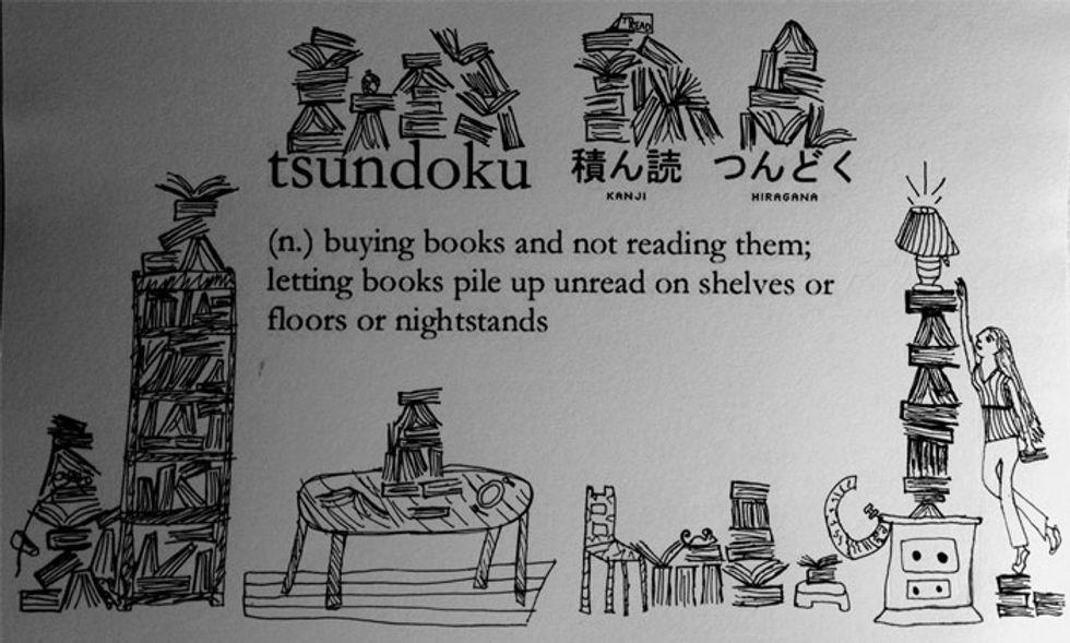 """Accumuli libri senza controllo? Hai lo """"tsundoku"""""""
