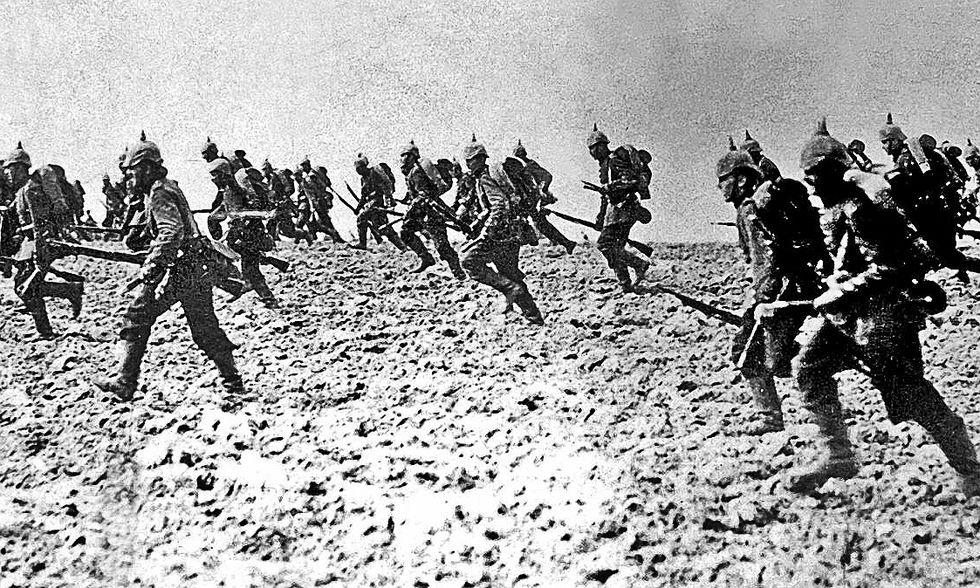 La prima guerra mondiale in sei minuti - Time-lapse