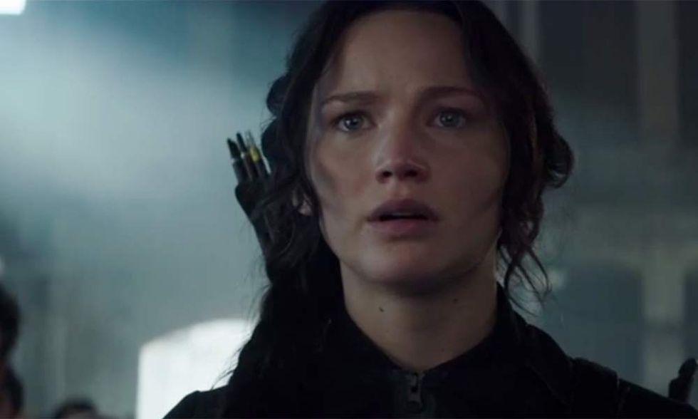Hunger Games: Il canto della rivolta - Parte 1, Jennifer Lawrence ritorna. Il teaser trailer