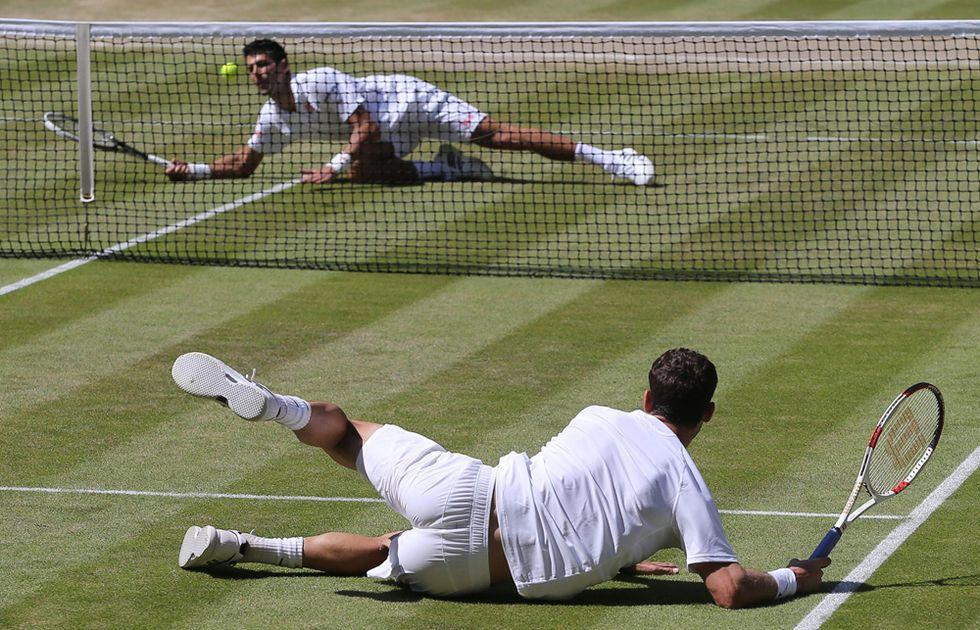 Djokovic vs Dimitrov a Wimbledon e altre foto del giorno, 04.07.2014