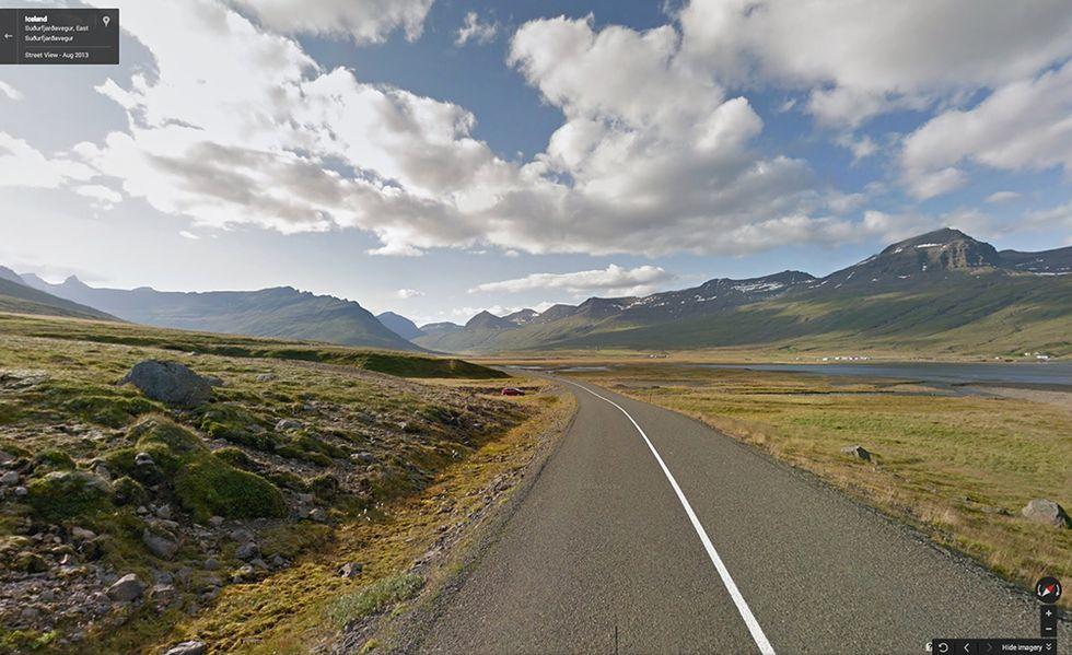 Google Street View sotto i cieli d'Islanda