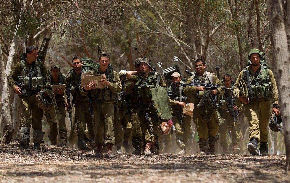 Foto da Gaza, nel giorno dell'attacco via terra di Israele