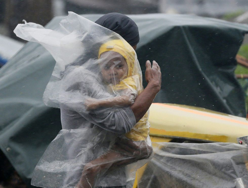 Il tifone Rammasun sulle Filippine - Foto