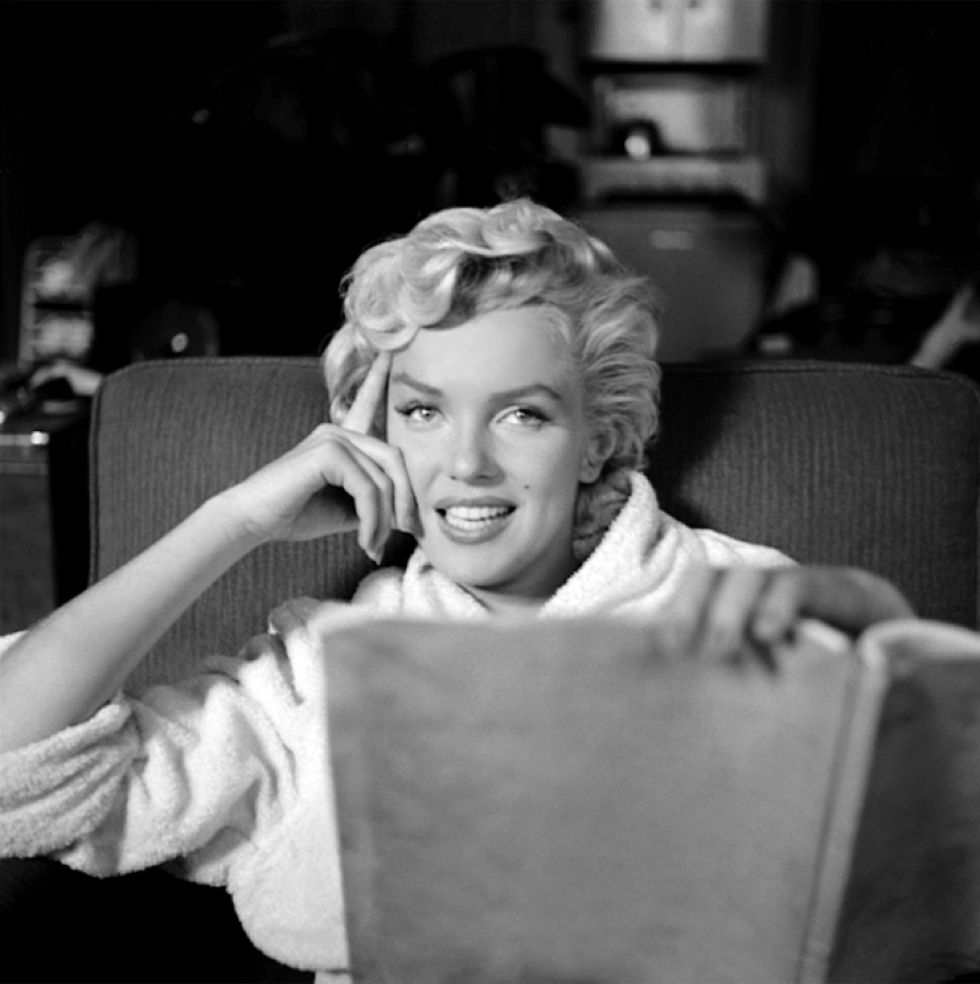 Marilyn in white