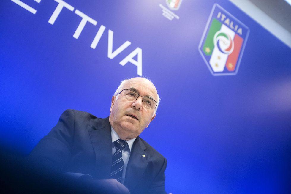 """La verità di Tavecchio: """"Conte è il migliore e la Puma non farà pressioni"""""""