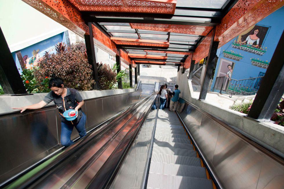 Le scale mobili più pazze del pianeta
