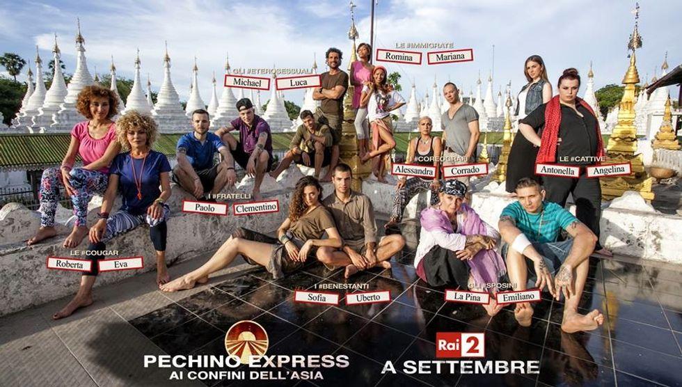 Pechino Express 3, svelate le otto coppie di concorrenti