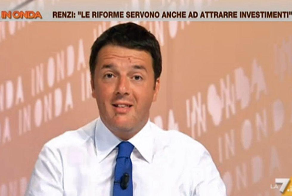 """Ascolti 7/8: Matteo Renzi non fa volare """"In Onda"""""""