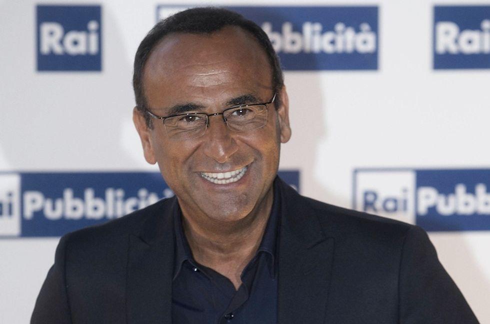 """Carlo Conti: """"Il mio riferimento per Sanremo? I Festival di Baudo"""""""