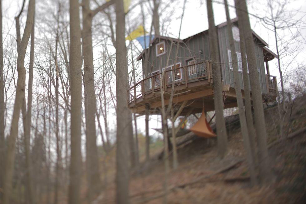 La mia nuova casa sull'albero, su Real Time le abitazioni più bizzarre