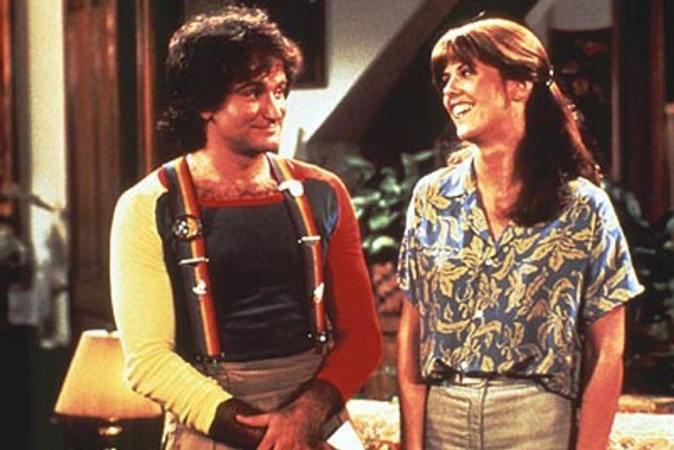 """""""Mork e Mindy"""", il primo successo di Robin Williams"""