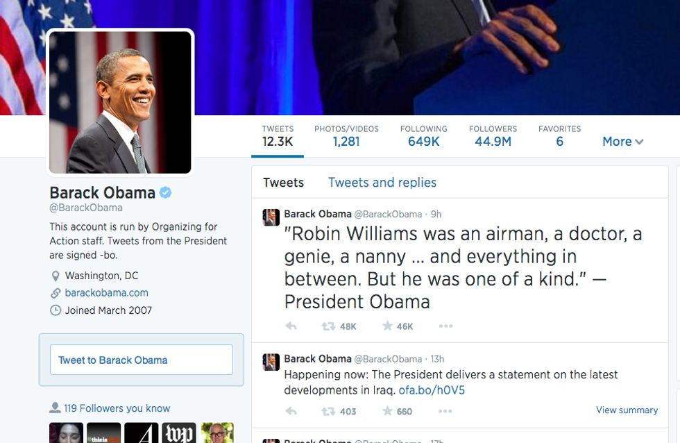 #RIPRobinWilliams - I tweet di saluto a Robin Williams