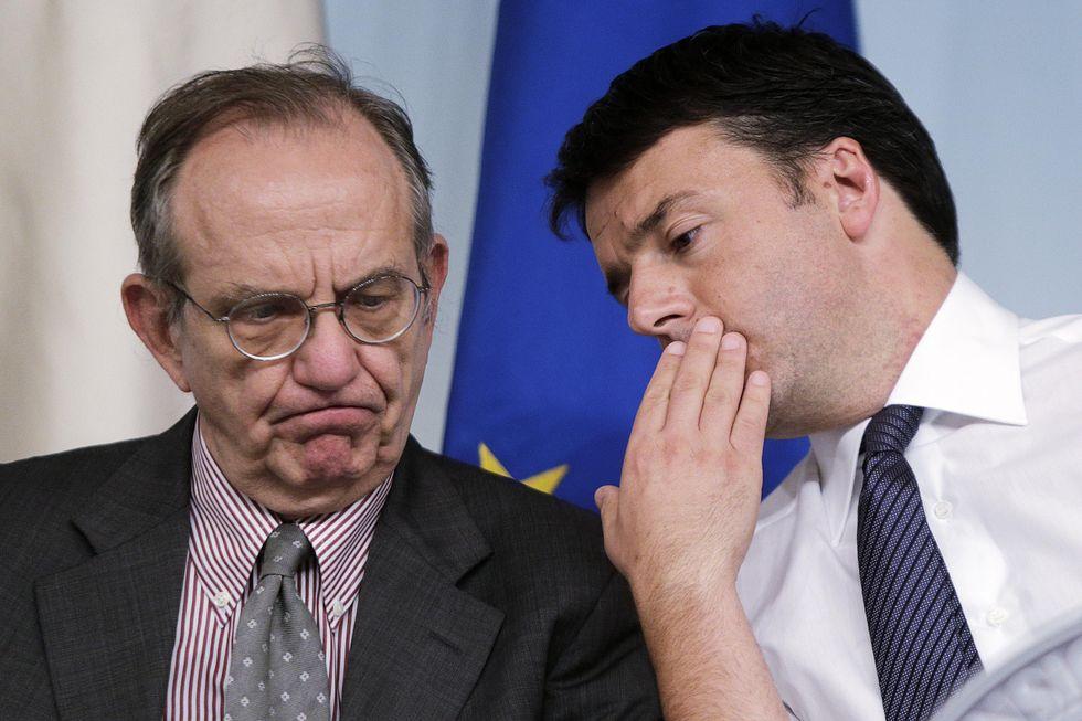 La recessione, Renzi e l'intervento possibile della Troika