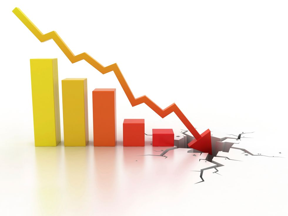 Allarme deflazione in 10 città