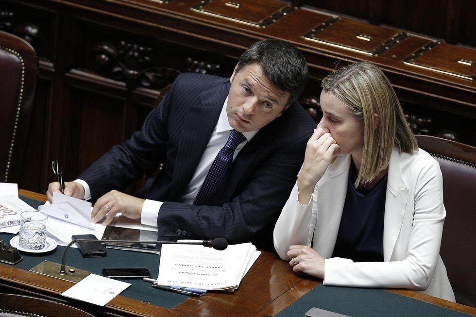 Renzi-Mogherini e le nomine senza senso e merito