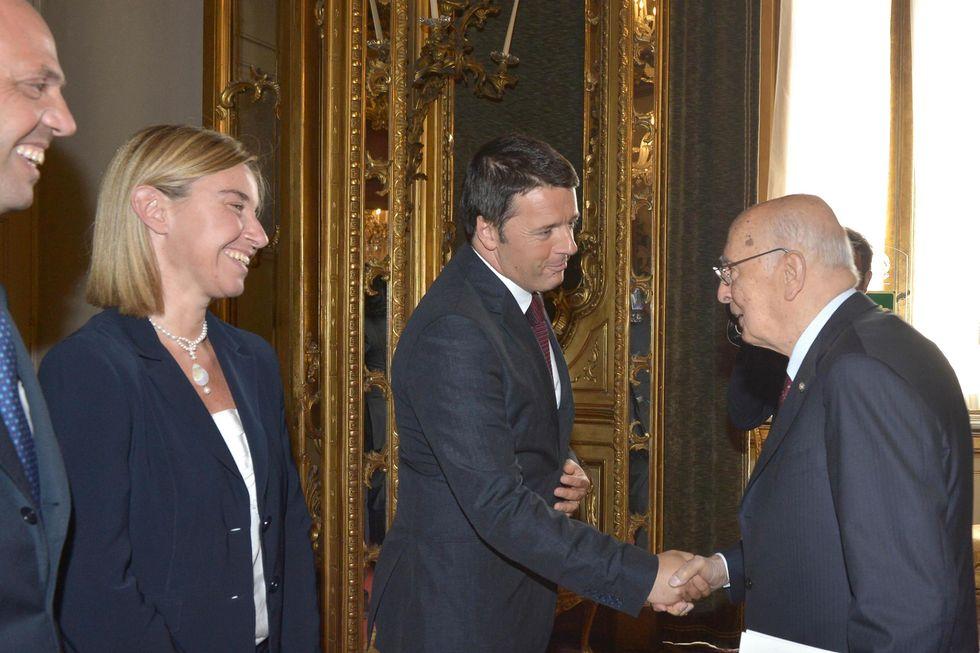 Napolitano ha commissariato Renzi