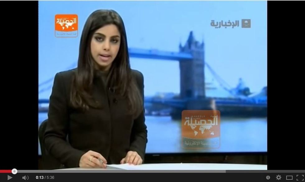 Arabia Saudita, ecco la prima giornalista senza velo