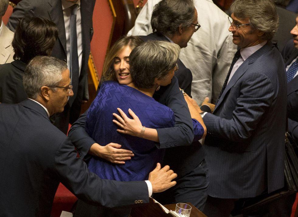 Sì al nuovo Senato, ma senza Berlusconi Renzi falliva