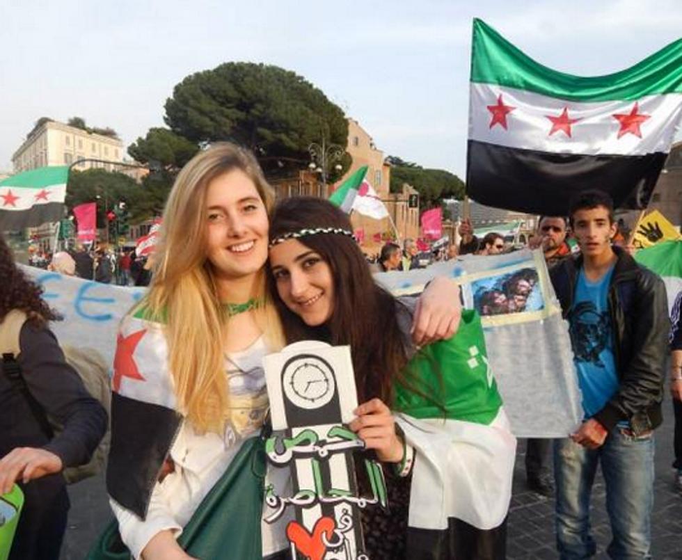 Due ragazze italiane rapite in Siria