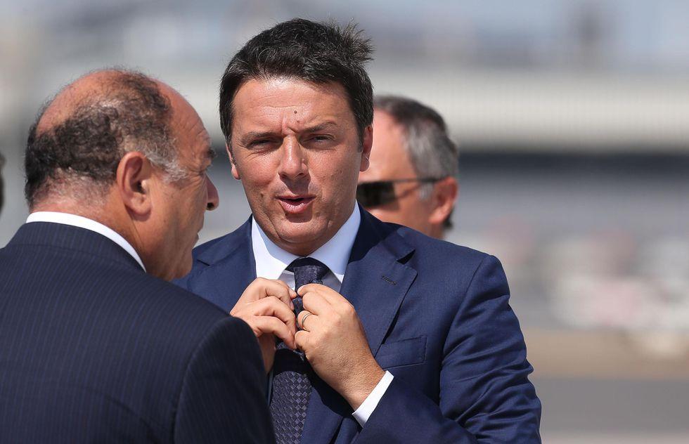 Renzi «osservato speciale» del Quirinale