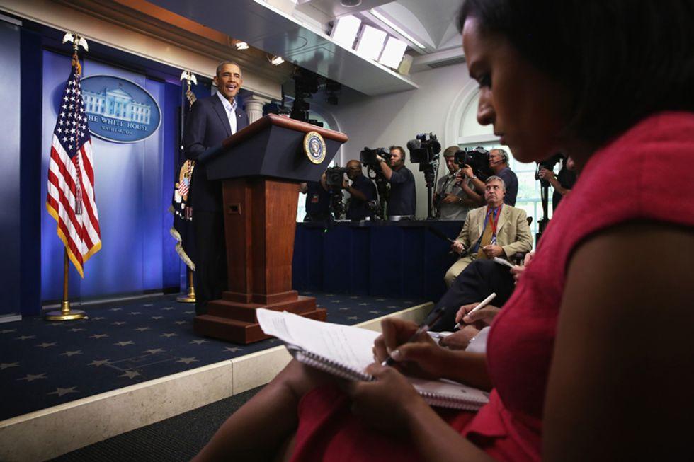 La crisi mediatica di Obama tra Ferguson e Medioriente